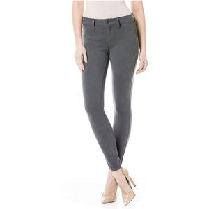 Level 99 Janice Gray Skinny Faux Suede Jeans NWT